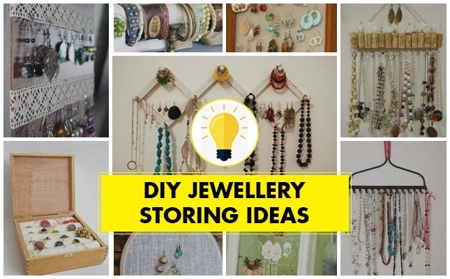 diy jewelry organization ideas