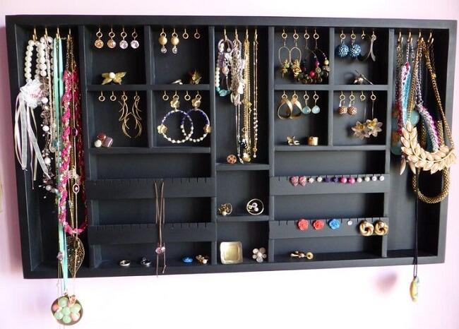 45 Diy Jewellery Storage Hacks To Save Space Smartly Topofstyle Blog