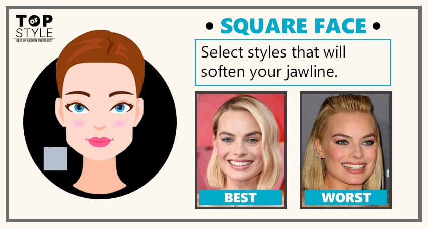 Best Worst Hairstyles For Different Face Shapes Of Women Topofstyle Blog