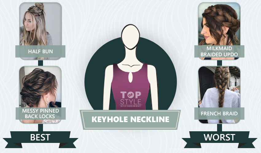 How To Choose Perfect Hairstyle For Your Neckline Topofstyle Blog