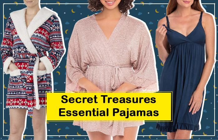 Secret Treasures Essential Pajamas for Sleepwear