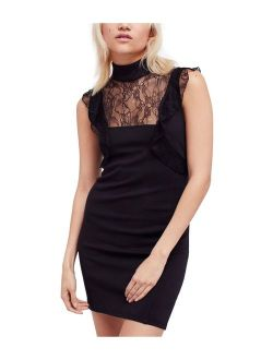Womens Beaumont Muse Lace Bodycon Dress