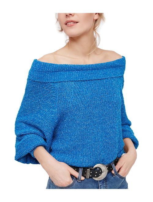 Free People Womens Edessa Pullover Knit Sweater