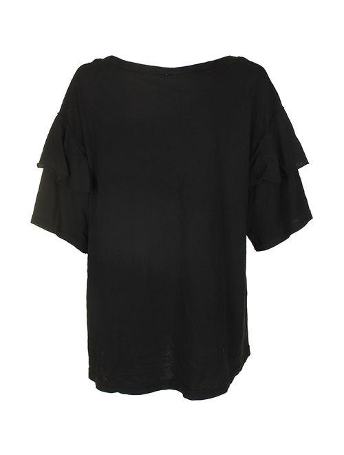 Free People Womens Abracadabra Basic T-Shirt