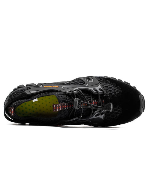 Men's Sandals Barefoot Hiking Shoes Quick Dry Breathable Mesh Lightweight Outdoor Training Water Walking Shoes