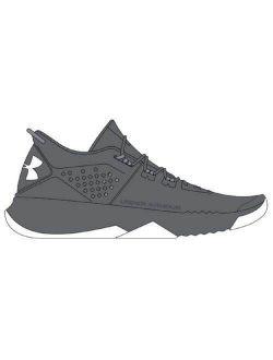 Men's Ua Bam Trainer Team Shoes (12, Graphite/steel/white)