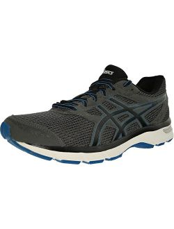 Men's Gel-excite 4 Carbon/black/electric Blue Ankle-high Running Shoe - 9.5m