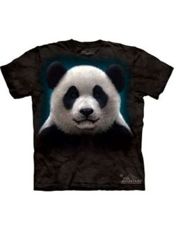 Panda Face Adult T-Shirt 10-3279