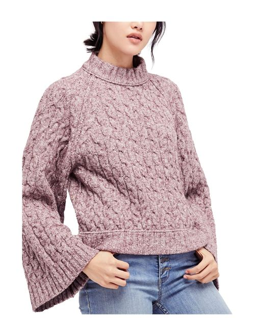 Free People Womens Snow Bird Pullover Sweater