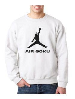 629 - Crewneck Air Goku Dbz Dragon Ball Z Jordan Parody Sweatshirt