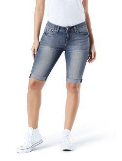 Women's Mid Rise Skinny Short