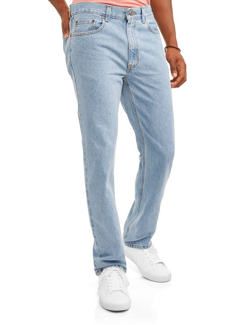 George Men's Regular Straight Fit Jeans