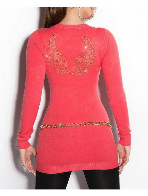 Women's Angel Wing Sweater - One Size (S/M/L)