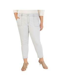 Style & Co. Womens Blue Denim Mid-Rise Ankle Skinny Jeans Plus 20W BHFO 5393