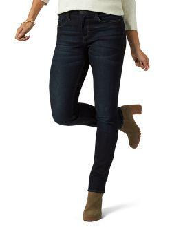 Womens Midrise Skinny Jean