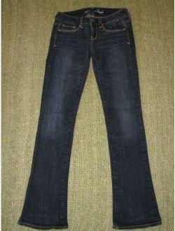 AMERICAN EAGLE Stretch SKINNY Kick Jeans 0 Reg AEO