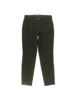 Style & Co. Womens Green Curvy Tummy Control Skinny Jeans 6 BHFO 1408