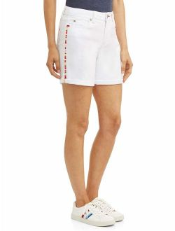 Women's Alex Short With Embroidery