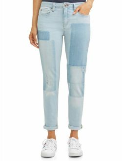 Alex Vintage Relaxed Jean Printed Patchwork