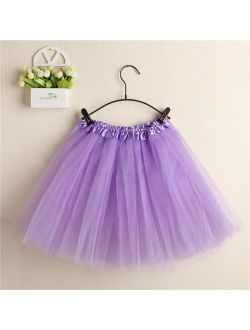 Womens Adult 3 Layer Tulle Tutu Skirt Ballet Skirts Dancewear