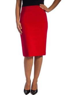 Women's Classic Career Suiting Pencil Skirt