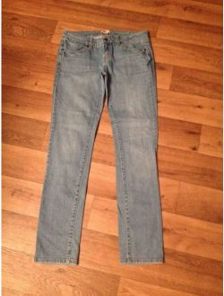 """*21 Twenty one* Jrs """"28"""" Low Whisker Stretch 4 Pkt Skinny Blue Jeans"""