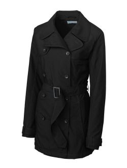 Women's Cb Weathertec Mason Trench Coat, Black - L