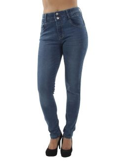 Colombian Design, Butt Lift, Push Up, Mid Waist, Skinny Jeans