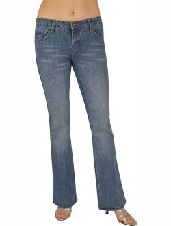 Keep_In_Touch Women's Stretch Jeans 5837-HDLU-3