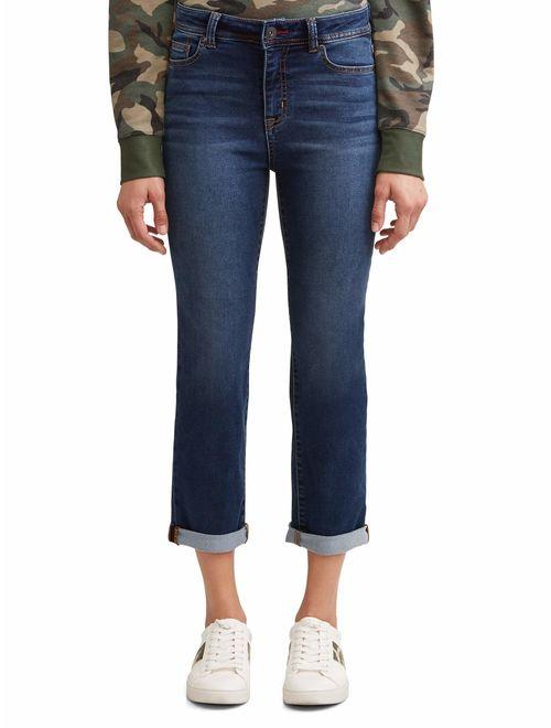 EV1 from Ellen DeGeneres Maddy Straight Leg Jean Women's (Dark Wash)