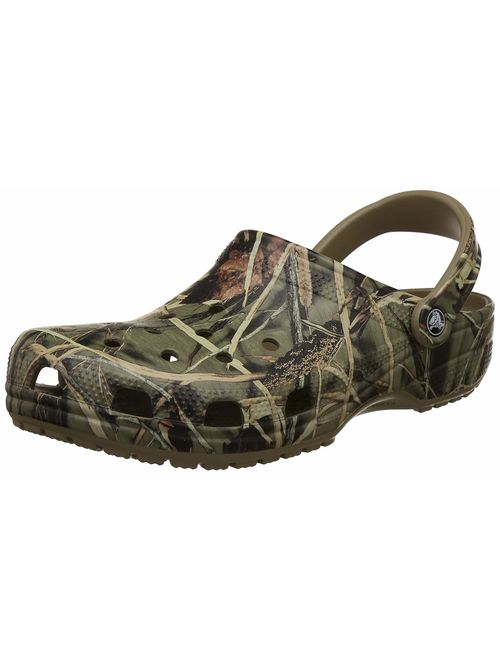 Crocs Men's and Women's Classic Realtree Clog