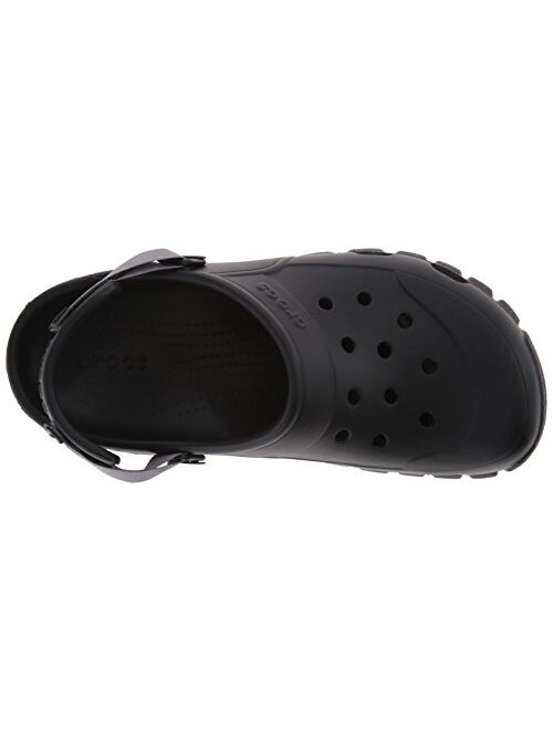 Crocs Men's and Women's Offroad Sport Clog | Comfort Rugged Outdoor Shoe With Adjustable Strap | Lightweight