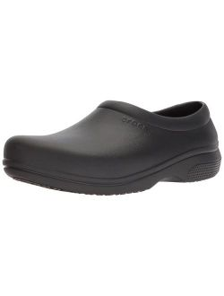 Men's And Women's On The Clock Clog | Slip Resistant Work Shoes