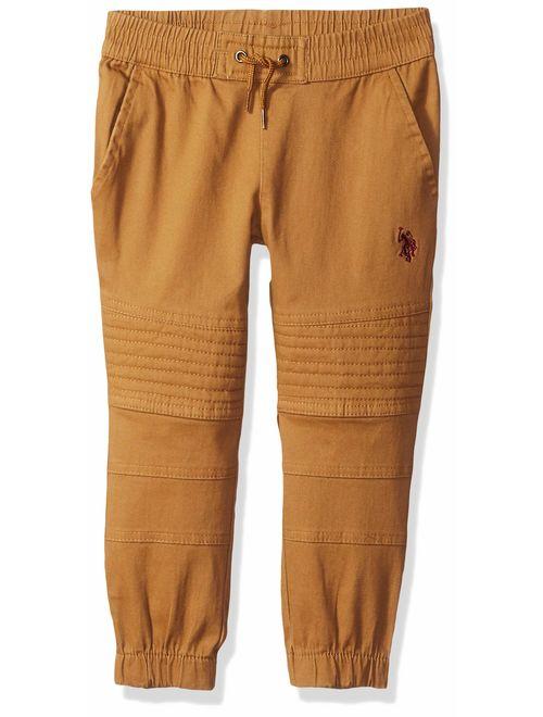 Boys Twill Jogger Pant Polo Assn U.S