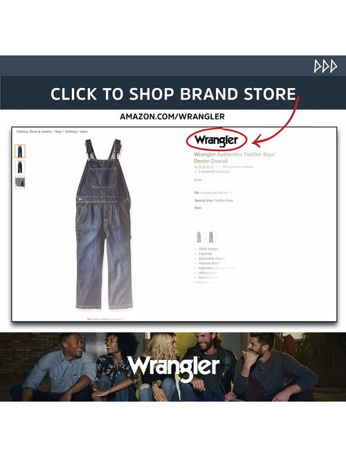 Wrangler Authentics Boys' Relaxed Straight Jean