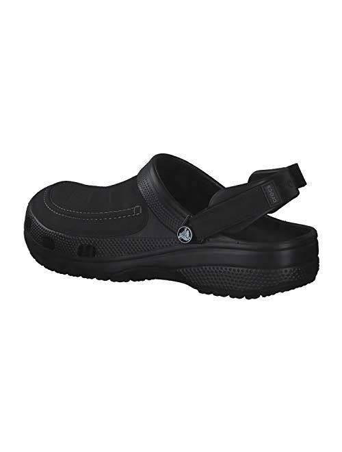 Crocs Men's Yukon Vista Clog | Comfortable Casual Outdoor Shoe with Adjustable Fit