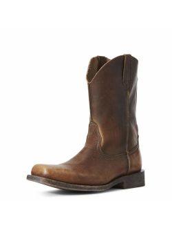 Men's Rambler Leather Sole Western Cowboy Boot
