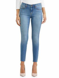 Sofia Skinny Mid Rise Soft Stretch Ankle Jean Women's