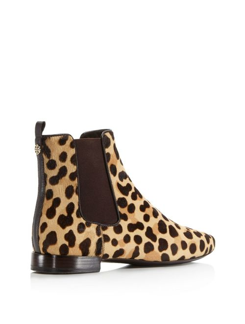 Tory Burch Orsay Calf-Hair Chelsea Ankle Boot
