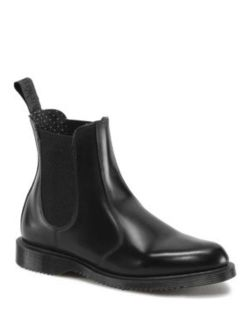 Flora Leather Chelsea Boots