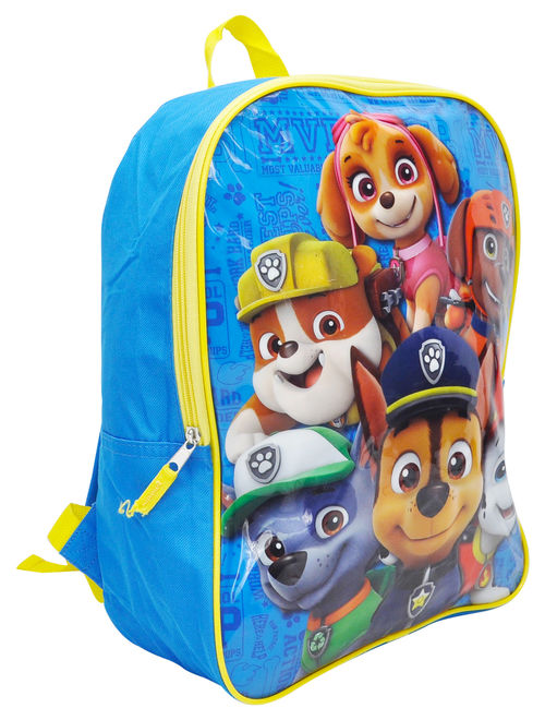 "Boys Paw Patrol Group 15"" Backpack Blue"