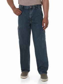 Men's Relaxed Fit Cargo Jean