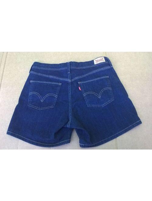 Levis Dark Blue Denim Shorts Size 8 Hardly Worn