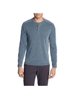 Travex Men's Contour Long Sleeve Henley Shirt