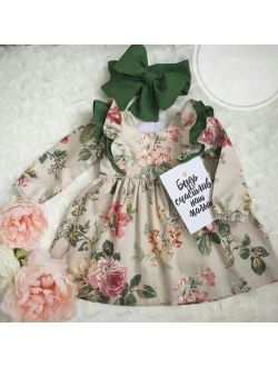 2PCS Cute Toddler Baby Girls Dress Princess Party Pageant Dresses Kids Clothes