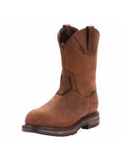 Men's Workhog Xt Wellington Waterproof Carbon Toe Work Boot