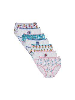 Frozen Elsa; Anna; Olaf; Girls' Underwear, 7 Pack Panties 100% Combed Cotton (little Girls & Big Girls)