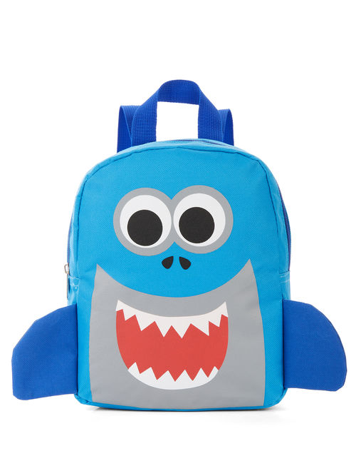 Carried Away Boys Shark Backpack