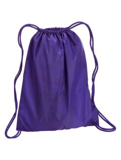UltraClub Large Sport Drawstring Backpack