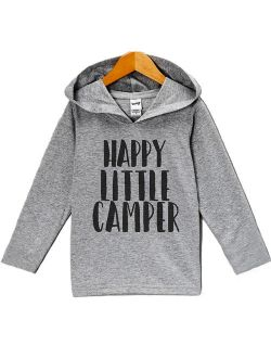 Custom Party Shop Kids Happy Camper Outdoors Onepiece - 18 Months